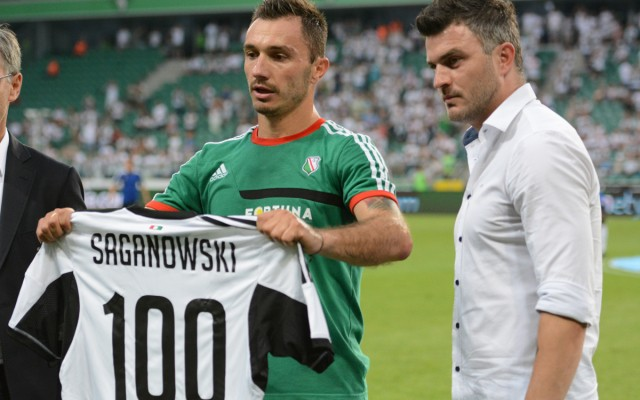 Marek Saganowski w Klubie 100!