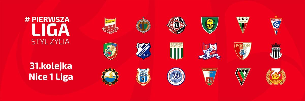 Zapowiedź 31. kolejki Nice 1 Liga – sezon 2016/17