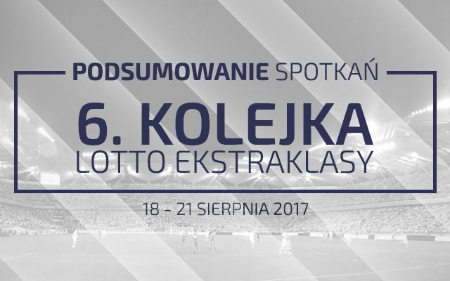 6. kolejka 2017/18 – podsumowanie spotkań