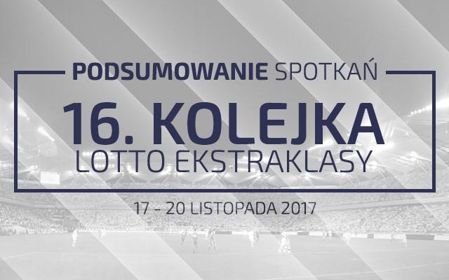 16. kolejka 2017/18 – podsumowanie spotkań