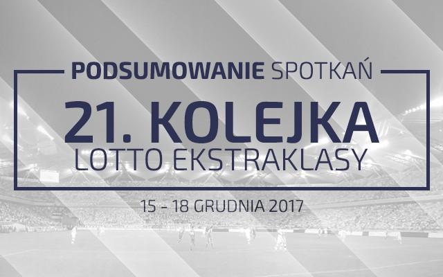 21. kolejka 2017/18 – podsumowanie spotkań