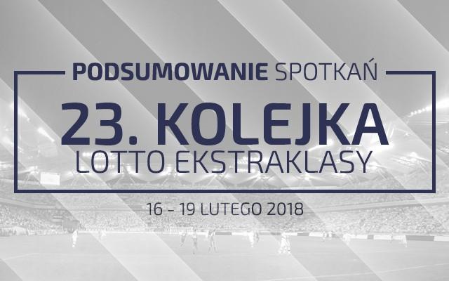 23. kolejka 2017/18 – podsumowanie spotkań