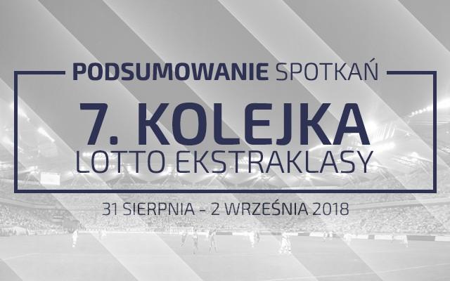 7. kolejka 2018/19 – podsumowanie spotkań