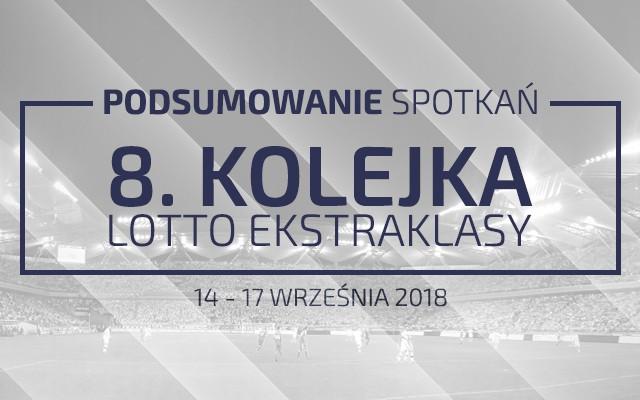 8. kolejka 2018/19 – podsumowanie spotkań