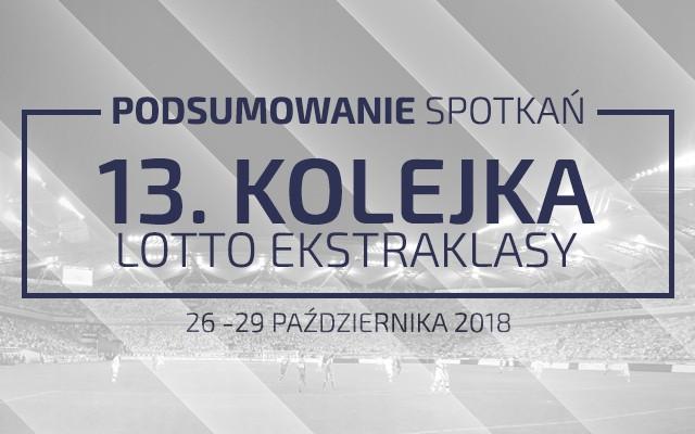 13. kolejka 2018/19 – podsumowanie spotkań