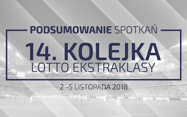 14. kolejka 2018/19 – podsumowanie spotkań