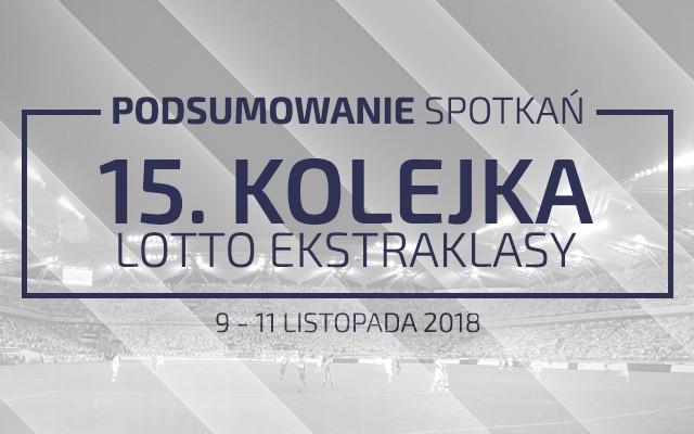 15. kolejka 2018/19 – podsumowanie spotkań