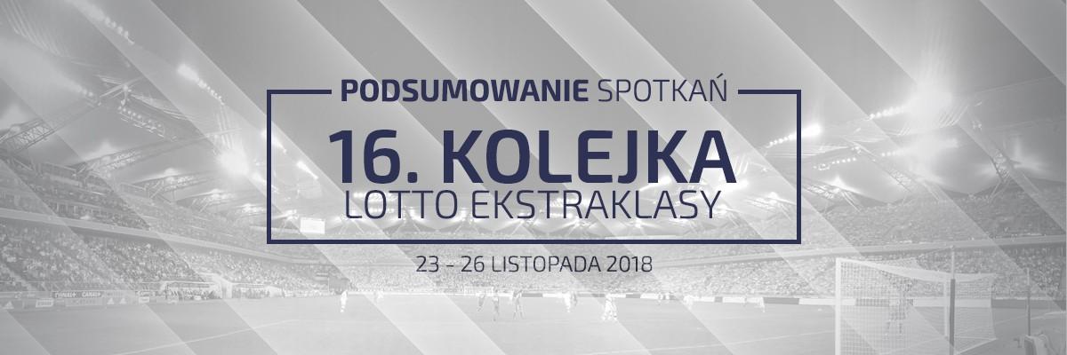 16. kolejka 2018/19 – podsumowanie spotkań