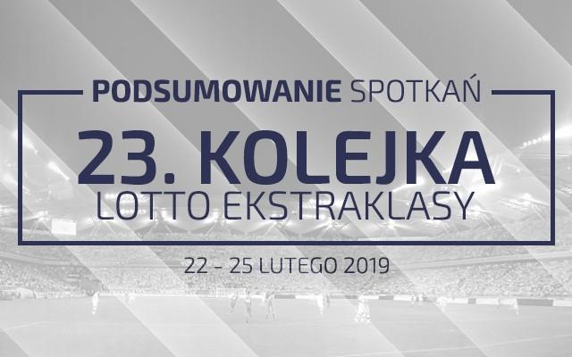 23. kolejka 2018/19 – podsumowanie spotkań