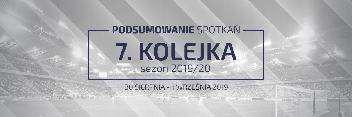 7. kolejka 2019/20 – podsumowanie spotkań