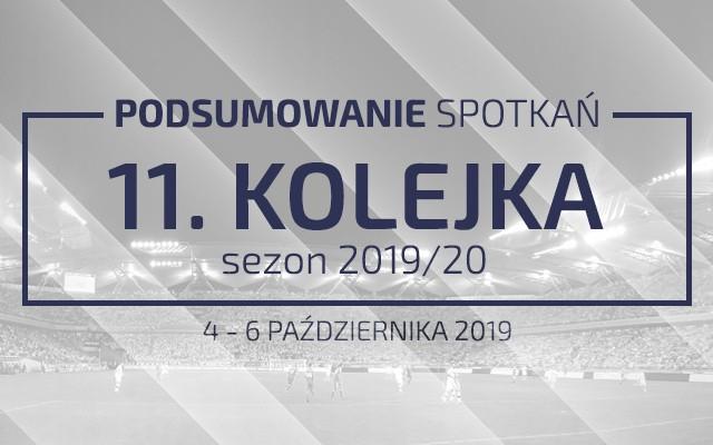 11. kolejka 2019/20 – podsumowanie spotkań