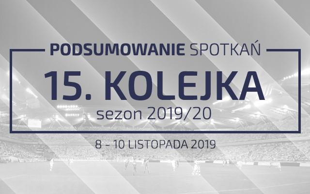 15. kolejka 2019/20 – podsumowanie spotkań