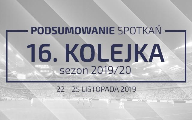 16. kolejka 2019/20 – podsumowanie spotkań