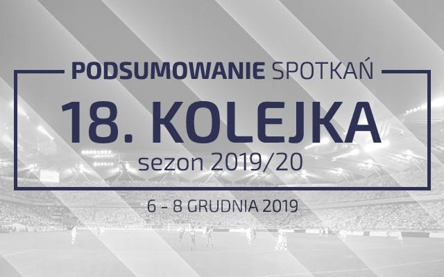 18. kolejka 2019/20 – podsumowanie spotkań
