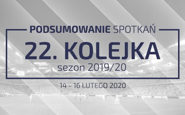 22. kolejka 2019/20 – podsumowanie spotkań