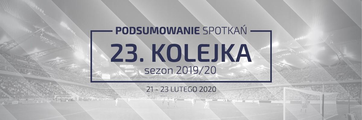 23. kolejka 2019/20 – podsumowanie spotkań