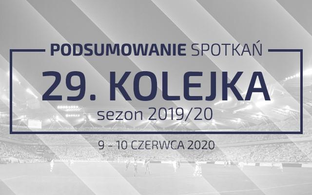 29. kolejka 2019/20 – podsumowanie spotkań