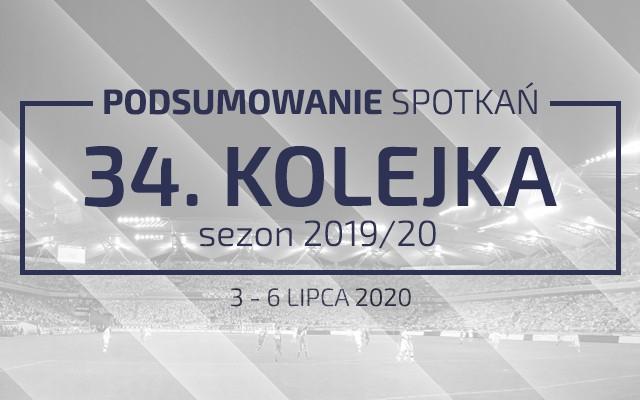 34. kolejka 2019/20 – podsumowanie spotkań
