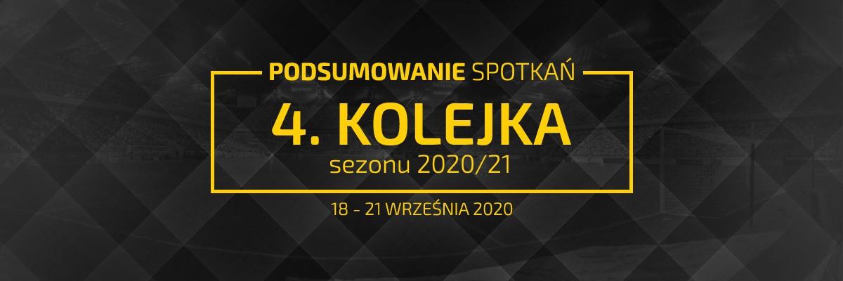 4. kolejka 2020/21 – podsumowanie spotkań