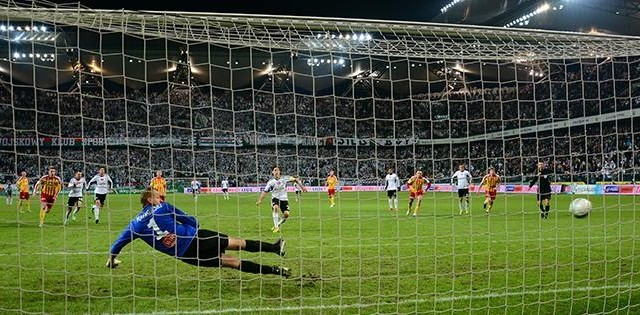 Rzuty karne po 15 kolejkach Ekstraklasy
