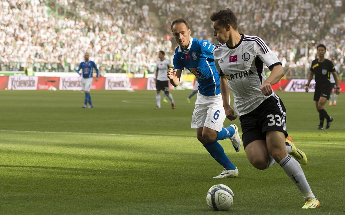 Piłkarze Lecha i Legii w meczach pomiędzy tymi zespołami