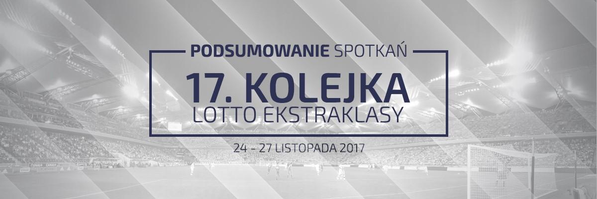 17. kolejka 2017/18 – podsumowanie spotkań
