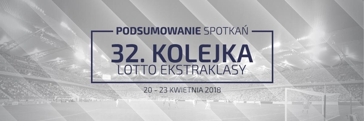 32. kolejka 2017/18 – podsumowanie spotkań