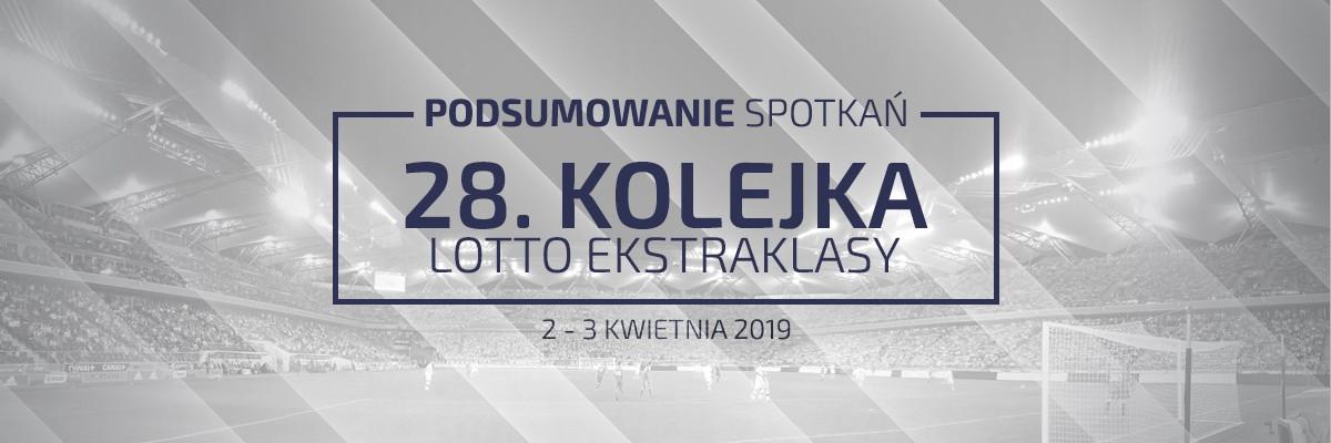 28. kolejka 2018/19 – podsumowanie spotkań
