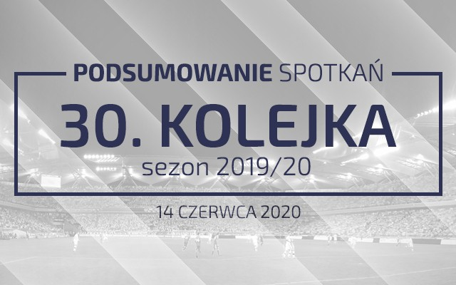30. kolejka 2019/20 – podsumowanie spotkań