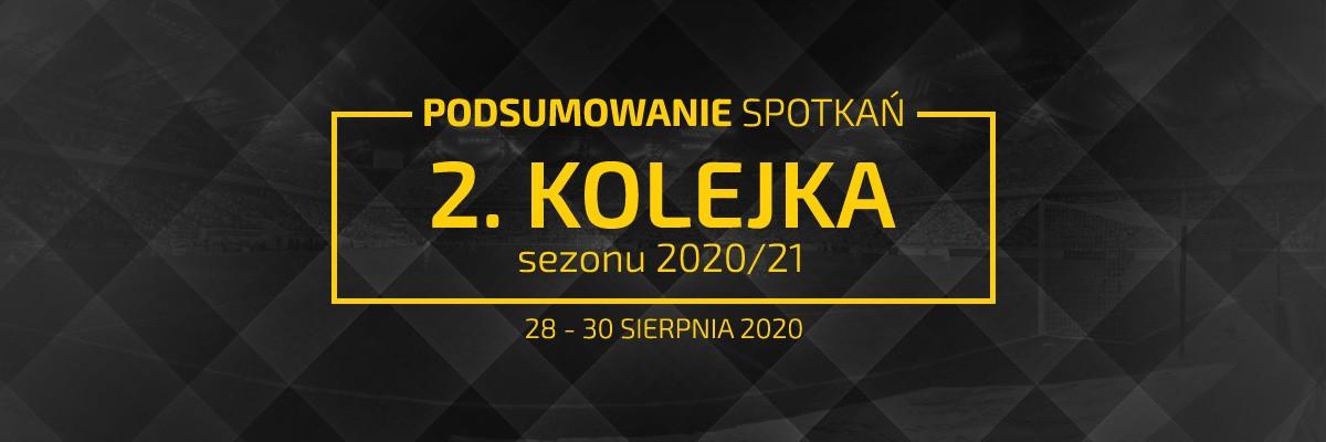 2. kolejka 2020/21 – podsumowanie spotkań