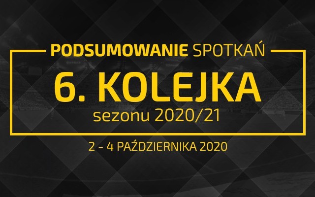 6. kolejka 2020/21 – podsumowanie spotkań