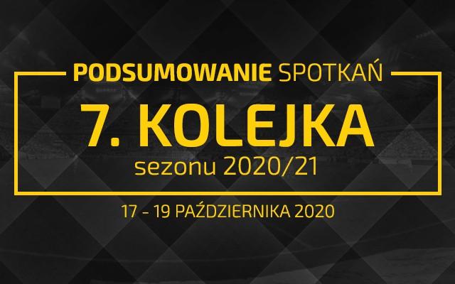 7. kolejka 2020/21 – podsumowanie spotkań