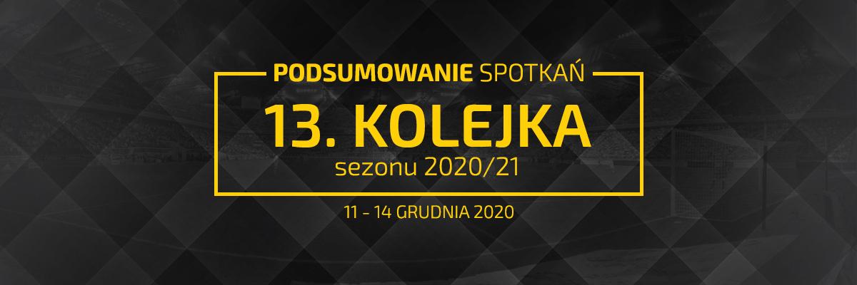 13. kolejka 2020/21 – podsumowanie spotkań