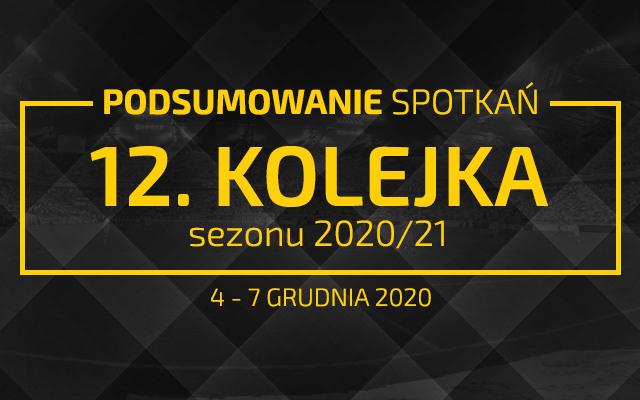12. kolejka 2020/21 – podsumowanie spotkań