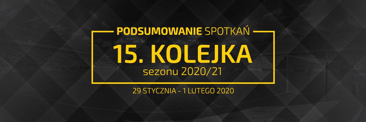 15. kolejka 2020/21 – podsumowanie spotkań