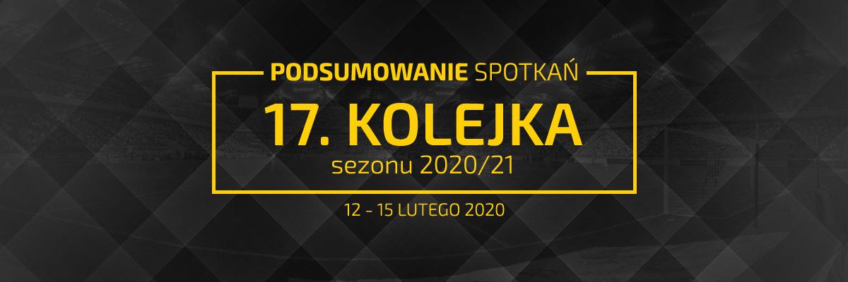 17. kolejka 2020/21 – podsumowanie spotkań