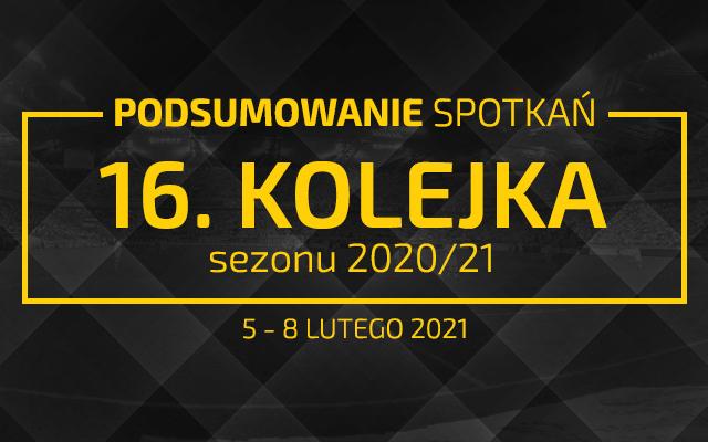 16. kolejka 2020/21 – podsumowanie spotkań