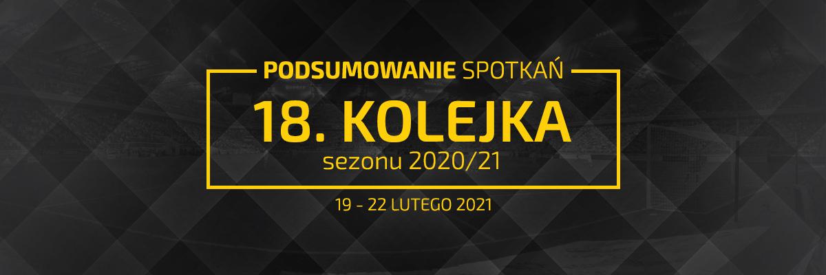 18. kolejka 2020/21 – podsumowanie spotkań