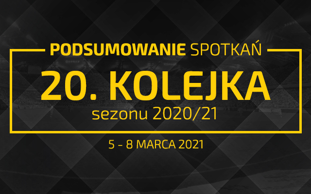 20. kolejka 2020/21 – podsumowanie spotkań
