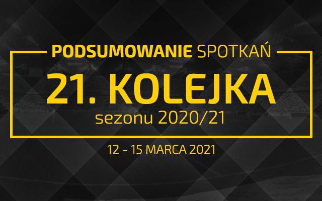 21. kolejka 2020/21 – podsumowanie spotkań