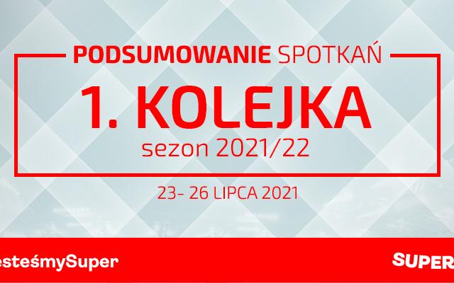 1. kolejka 2021/22 – podsumowanie spotkań