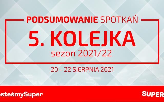 5. kolejka 2021/22 – podsumowanie spotkań