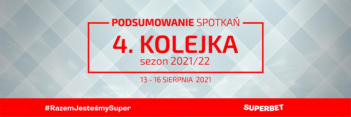 4. kolejka 2021/22 – podsumowanie spotkań