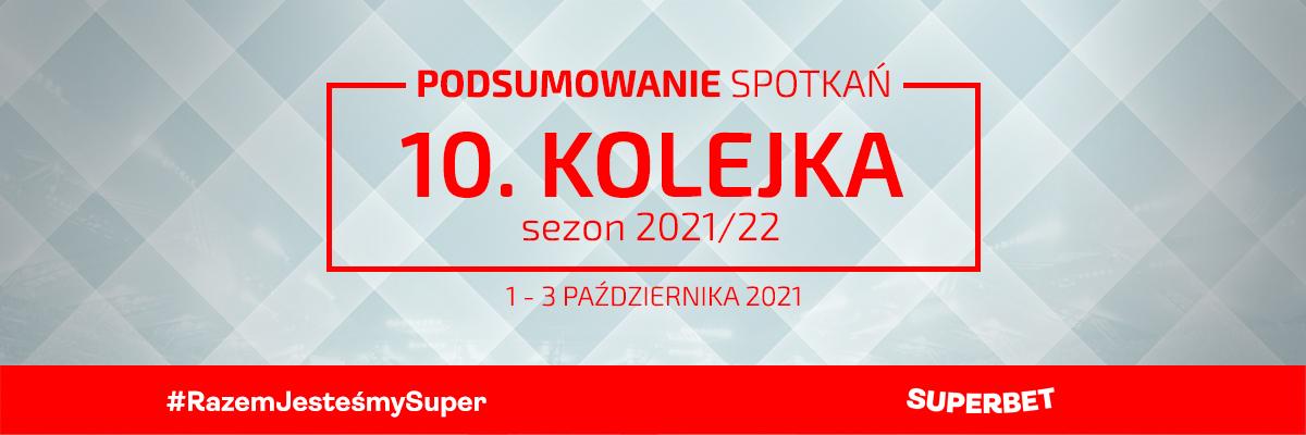 10. kolejka 2021/22 – podsumowanie spotkań